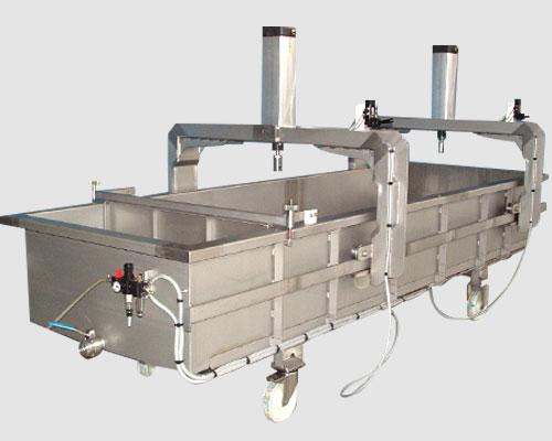 bac de drainage manuel fromagerie
