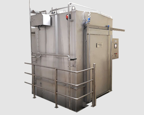 cabine lavage inox