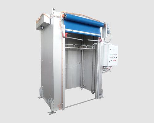 cabine de pulverisation