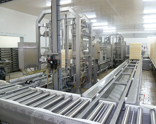 materiel fromager egouttage